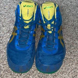 Jordan Burroughs signature Asics Wrestling Shoes
